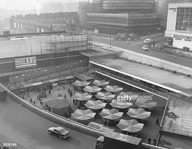 The market at the Bull Ring Centre Birmingham