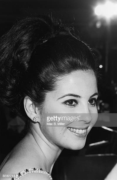 Headshot of Canadian actor Barbara Parkins smiling