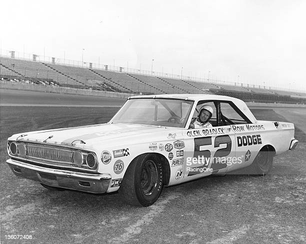 USAC Stock Car Series driver Glen Bradley brought this 1965 Dodge to Daytona International Speedway to attempt to qualify for the ARCA 250 race