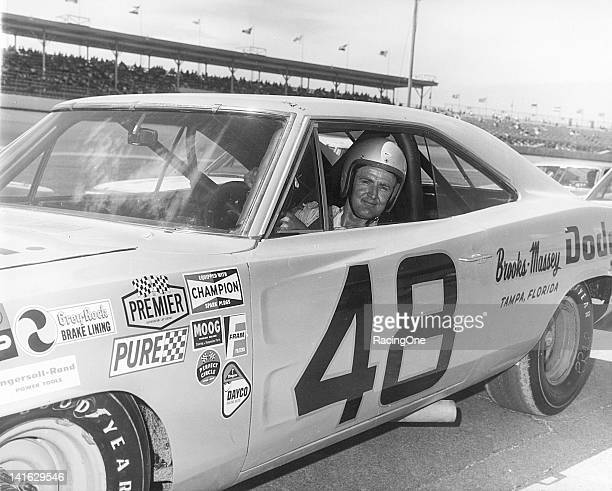 James Hylton drove this 1968 Dodge Charger to a 15th place finish in the Daytona 500 NASCAR Cup race at Daytona International Speedway