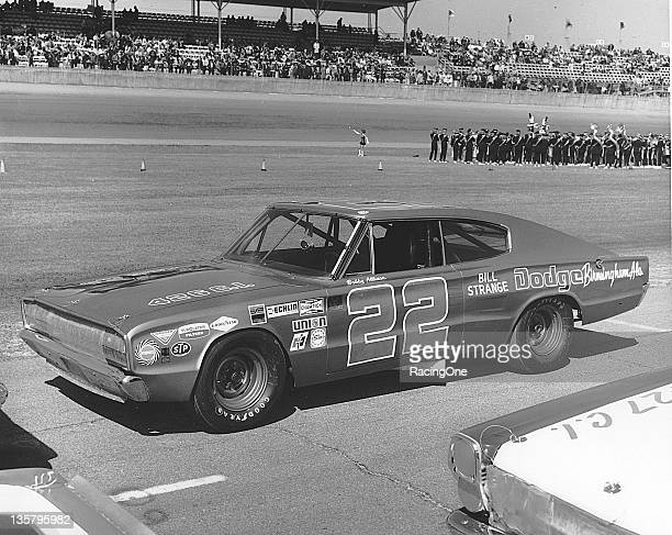 Bobby Allison ran the Permatex 300 NASCAR Sportsman race in this 1966 Dodge Charger that was owned by fellow driver Jim Vandiver The car only made...