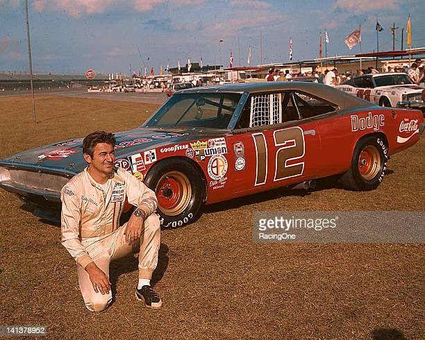 Bobby Allison brought his Dodge Charger to Daytona International Speedway for the Daytona 500 NASCAR Cup race adorned in the colors of his longtime...