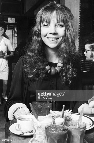 Penelope Tree, a model and close friend of photographer David Bailey.