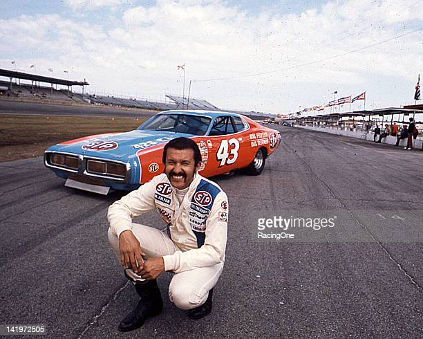 Richard Petty won his fourth Daytona 500 NASCAR Cup race at Daytona International Speedway behind the wheel of the Petty Enterprises Dodge Charger