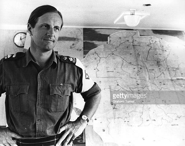 Lt Col Gavin Peebles with the British force in Salisbury Rhodesia as the country moved from UDI to independence