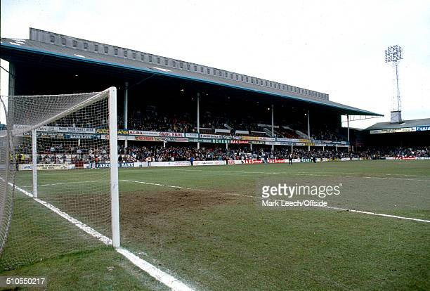 24 February 1991 English Football League Divison Two West Ham United v Millwall A general view of Upton Park