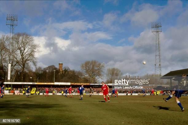 18 February 1996 FA Cup Shrewsbury Town v Liverpool a general view of Gay Meadow stadiumPhoto Mark Leech