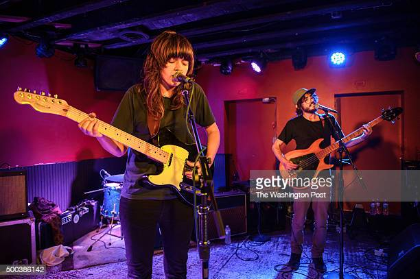 WASHINGTON DC February 19th 2014 Australian singersongwriter Courtney Barnett performs at DC9 in Washington DC Barnett garnered critical buzz from...