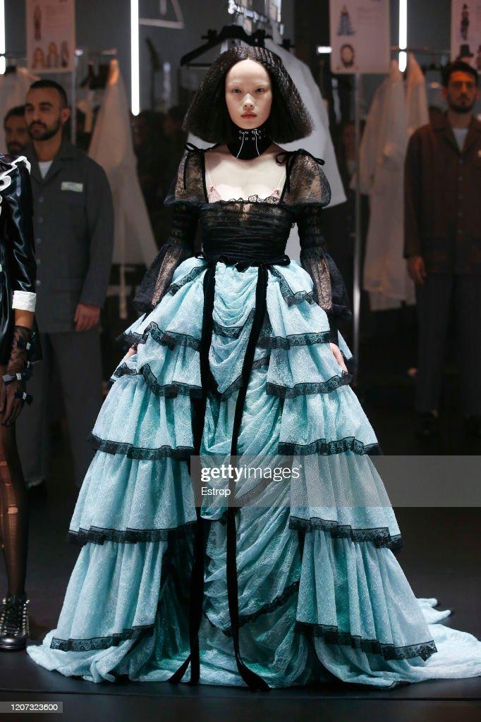 Gucci - Runway - Milan Fashion Week Fall/Winter 2020-2021 : Nachrichtenfoto