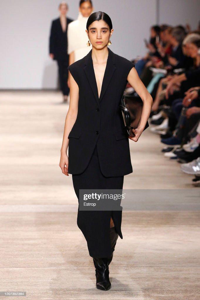 Jil Sander  - Runway - Milan Fashion Week Fall/Winter 2020-2021 : Foto di attualità