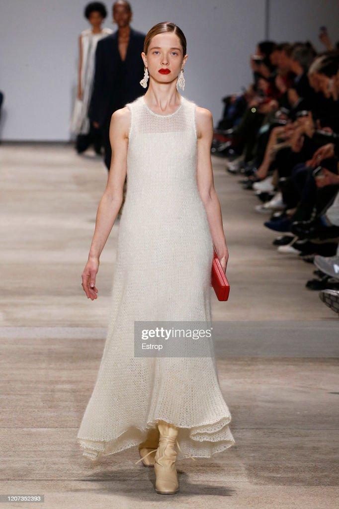 Jil Sander  - Runway - Milan Fashion Week Fall/Winter 2020-2021 : Nieuwsfoto's