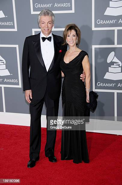 February 2 2009 Los Angeles Ca Deana Martin and husband John Griffeth 51st Annual GRAMMY Awards Held at Staples Center