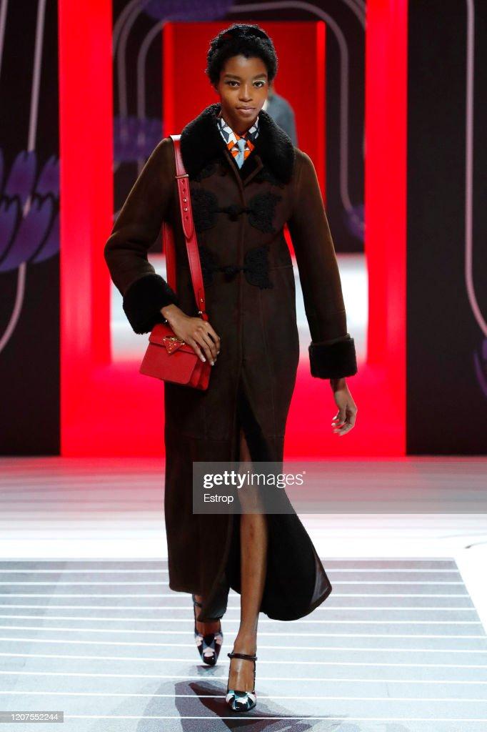 Prada - Runway - Milan Fashion Week Fall/Winter 2020-2021 : ニュース写真