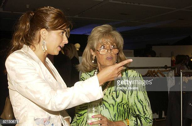 17 February 2004 Jodhi Packer and Lillian Frank at the Autumn/Winter 2004 season showcase for Australia's leading fashion designers and International...