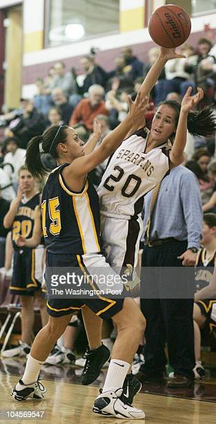 February 2007 CREDIT TRACY A WOODWARD / TWP Broad Run High School 21670 Ashburn Rd Ashburn VA Girls' basketball Loudoun County at Broad Run High...
