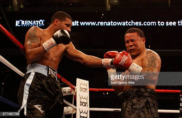 Don King Productions stages first-ever boxing card on Valentine's Day at the BankAtlantic Center, Sunrise, Florida. Anthony