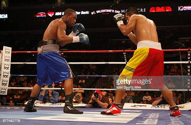 Don King Productions stages firstever boxing card on Valentine's Day at the BankAtlantic Center Sunrise Florida Gary Russell JR from Washington DC...