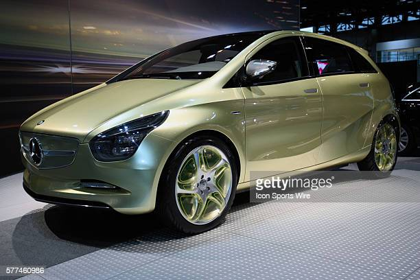 MERCEDESBENZ BLUEZERO ECELL MercedesBenz is showing the way ahead in environmentally responsible electromobility by presenting its nearseries Concept...