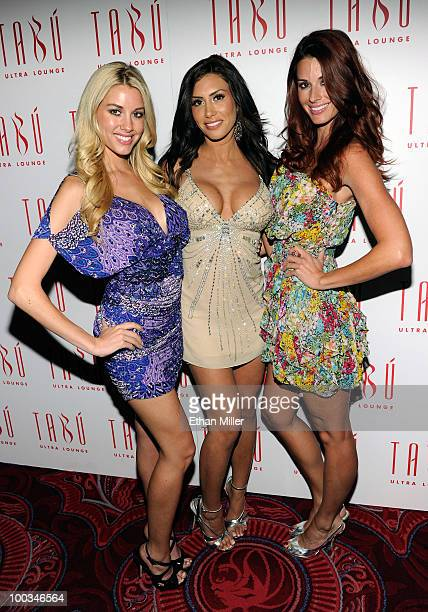 February 2010 Playboy Playmate of the Month Heather Rae Young Playboy model Danielle Fornarelli and January 2010 Playboy Playmate of the Month Jaime...