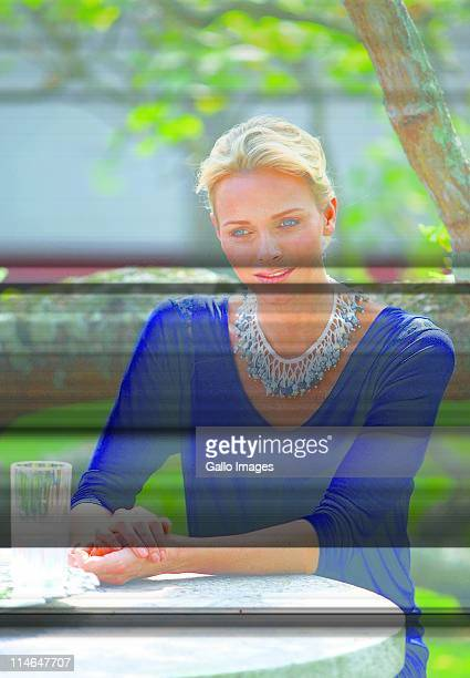 Former South African Olympic swimmer and future Princess of Monaco Charlene Wittstock during a visit St John's Diocesan School for Girls in...