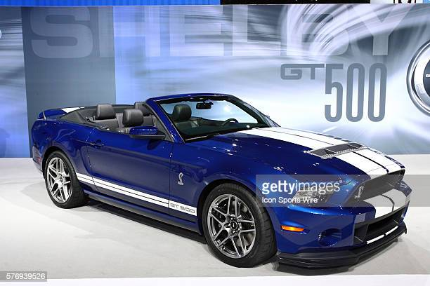 2013 Ford Shelby Mustang Cobra GT500 The most powerful Pony 58L supercharged V8 engine 650 hp the most powerful production V8 engine in the world*...