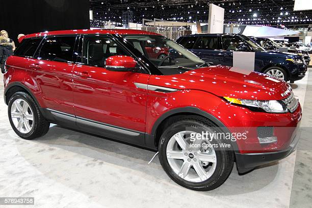 2013 Range Rover Evoque 5 door Sport Utility Vehicle Chicago Auto Show Chicago Automobile Trade Association McCormick Place Chicago Illinois