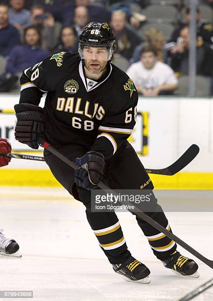 01 February 2013 Dallas Stars right wing Jaromir Jagr in action during the game between the Phoenix Coyotes and the Dallas Stars at the American...