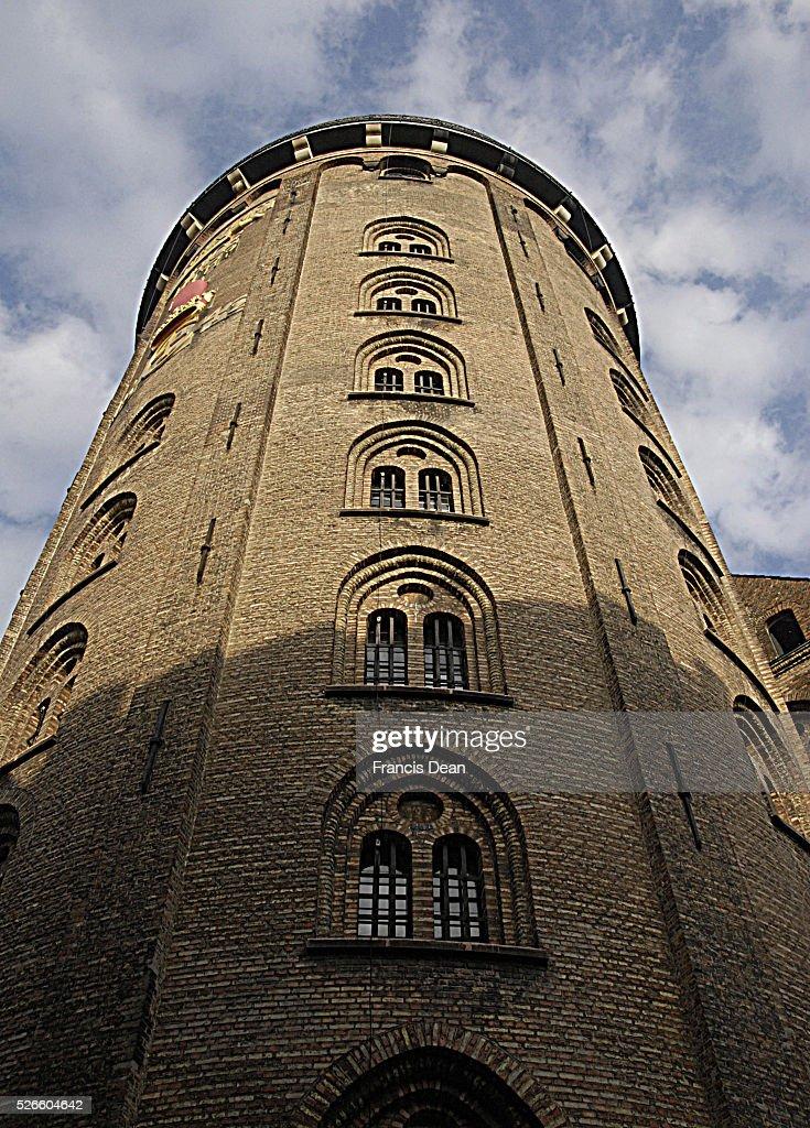 Round tower on kobmagergade : News Photo
