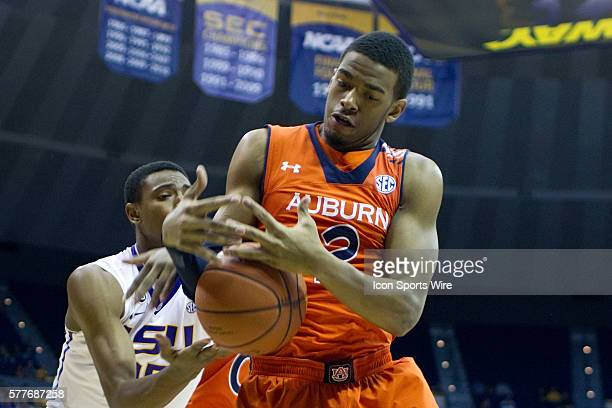8 February 2014 Auburn Tigers at LSU Tigers Auburn Tigers forward Allen Payne during a game in Baton Rouge Louisiana