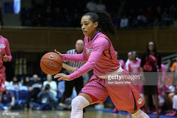 Clemson's Tiffany Lewis The Duke University Blue Devils hosted the Clemson University Tigers at Cameron Indoor Stadium in Durham North Carolina in a...