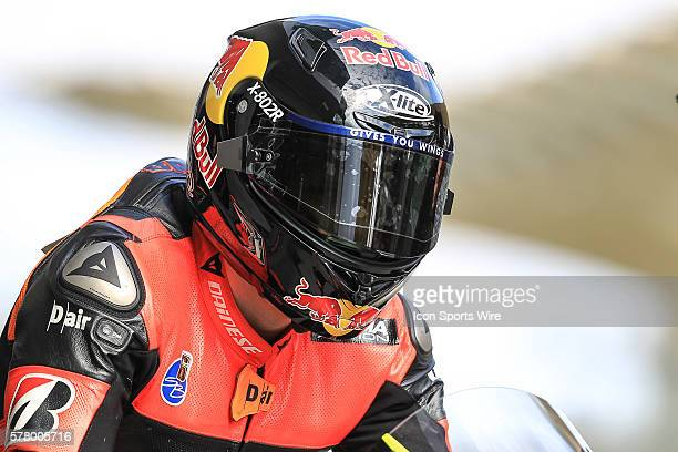 Stefan Bradl of NGM Forward Racing in action during the second day of the first official MotoGP testing session held at Sepang International Circuit...