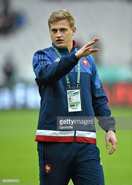 13 February 2016 Jules Plisson France walks the pitch ahead of the game RBS Six Nations Rugby Championship France v Ireland Stade de France Saint...