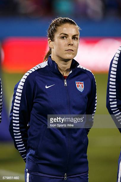 15 February 2016 United States defender Kelley O'Hara during the Olympic Qualifying first round game between the United States and Puerto Rico at...