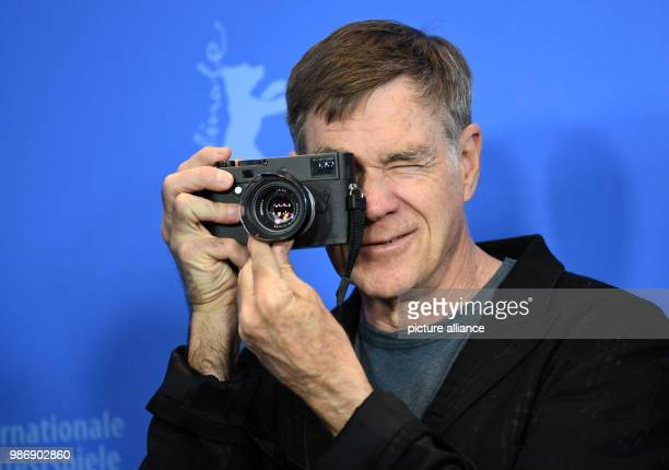 February 2018, Germany, Berlin, Berlinale, photocall, 'Don't Worry, He Won't Get Far on Foot': Director Gus Van Sant. The film runs in the...