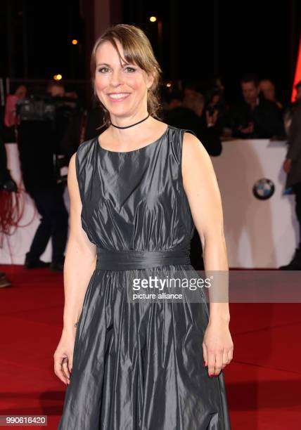 22 February 2018 Germany Hamburg 53rd Golden Camera Awards Actress Anneke Kim Sarnau arrives for the 53rd Golden Camera Awards Photo Christian...