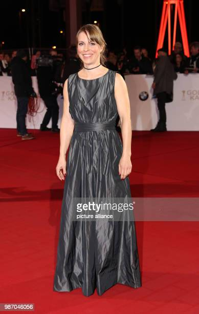 22 February 2018 Germany Hamburg Golden Camera Awards Ceremony Arrival of the actress Anneke Kim Sarnau Photo Christian Charisius/dpa