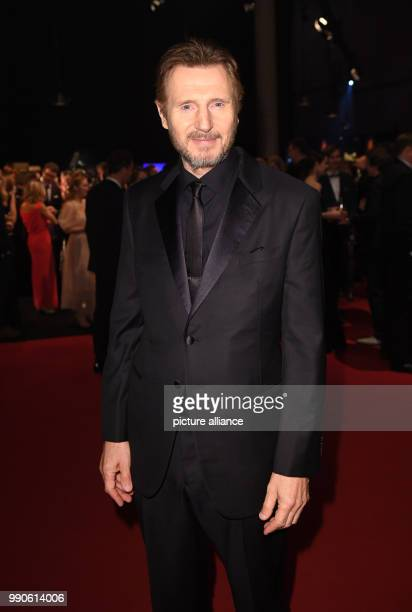22 February 2018 Germany Hamburg Golden Camera Awards Ceremony Arrival of the actor Liam Neeson The Hollywood star will be honoured with the award...
