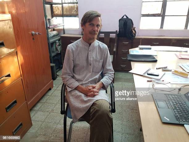 Development economist Jean Dreze sits in his office at the university of Ranchi Dreze is originally from Belgium he has been living since 1979 in...