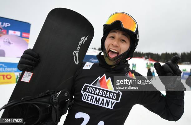 09 February 2019 BadenWuerttemberg Feldberg Im Schwarzwald Snowboard Cross World Cup on the Feldberg in the Black Forest Fourthplaced Yoshiki...