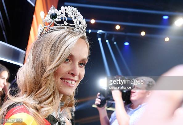 23 February 2019, Baden-Wuerttemberg, Rust: Miss Baden ...