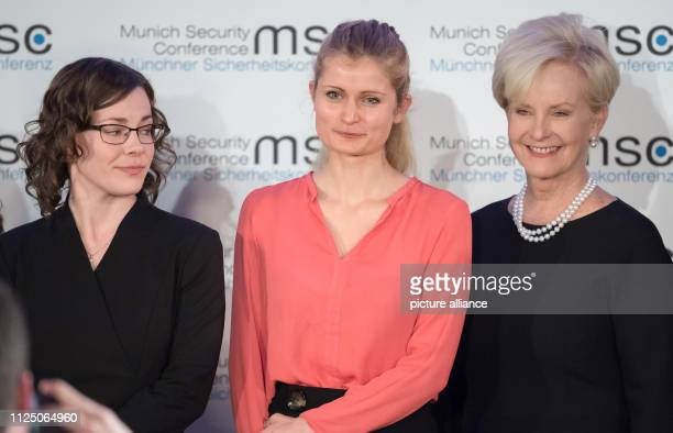 The political scientists Abigail Post and Ulrike Franke receive the John McCain Dissertation Prize from Cindy McCain the widow of the late US Senator...