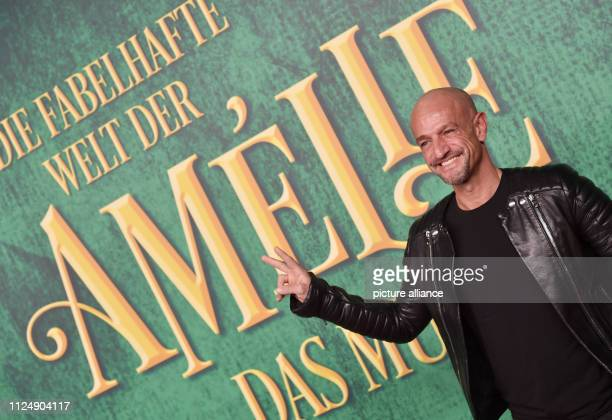 The TV juror Peyman Amin comes to the premiere of the musical 'The Fabulous World of Amelie' in Werk 7 Theater Photo Angelika Warmuth/dpa