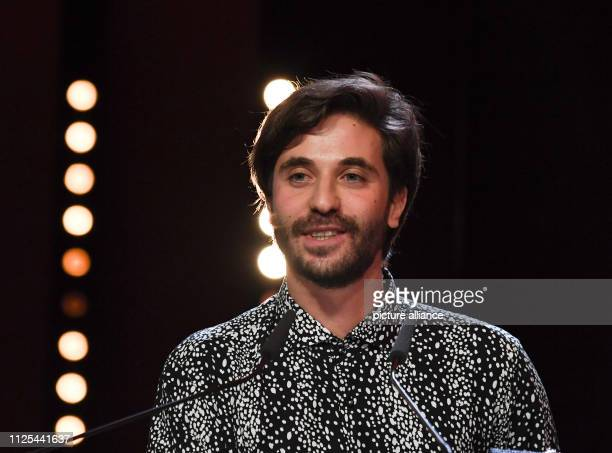 69th Berlinale Closing and awarding of the Bears at the Berlinale Palast Silver Bear Best Short Film 'Blue Boy' Manuel Abramovich Photo Ralf...