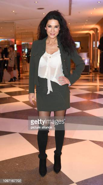 69th Berlinale Mariella Ahrens actress is at the events Directors Cut and Movie meets Media at the Hotel Adlon Photo Britta Pedersen/dpa
