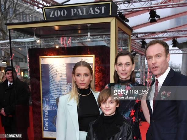 69th Berlinale Premiere at the Zoo Palast BerlinSeries 8 Days Germany The actors Lena Klenke Claude Heinrich Christiane Paul and Mark Waschke actor...
