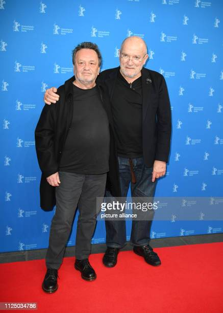 69th Berlinale Premiere Peter Lindbergh Women's Stories Berlinale Special Peter Lindbergh photographer and Jean Michel Vecchiet director Photo Britta...