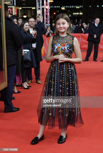 69th Berlinale The actress Anna Pniowsky comes to the premiere of the film Light of My Life The film starts in the Panorama section Photo Jens...