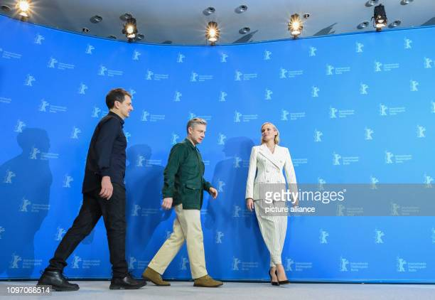 Director Yuval Adler and actors Martin Freeman and Diane Kruger come to Photocall for the film The Operative The film is shown at the International...