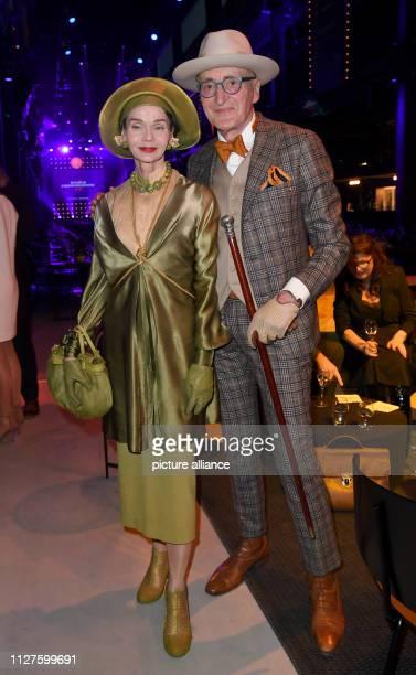 Günther Krabbenhöft and Britt Kanja at the Michelin Star Award 2019 Photo Britta Pedersen/dpaZentralbild/dpa