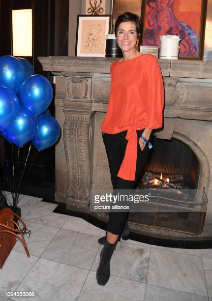 "February 2019, Berlin: Julia Bremermann at the presentation of the short film award ""Blaue Blume Award 2019"". Photo: Britta..."
